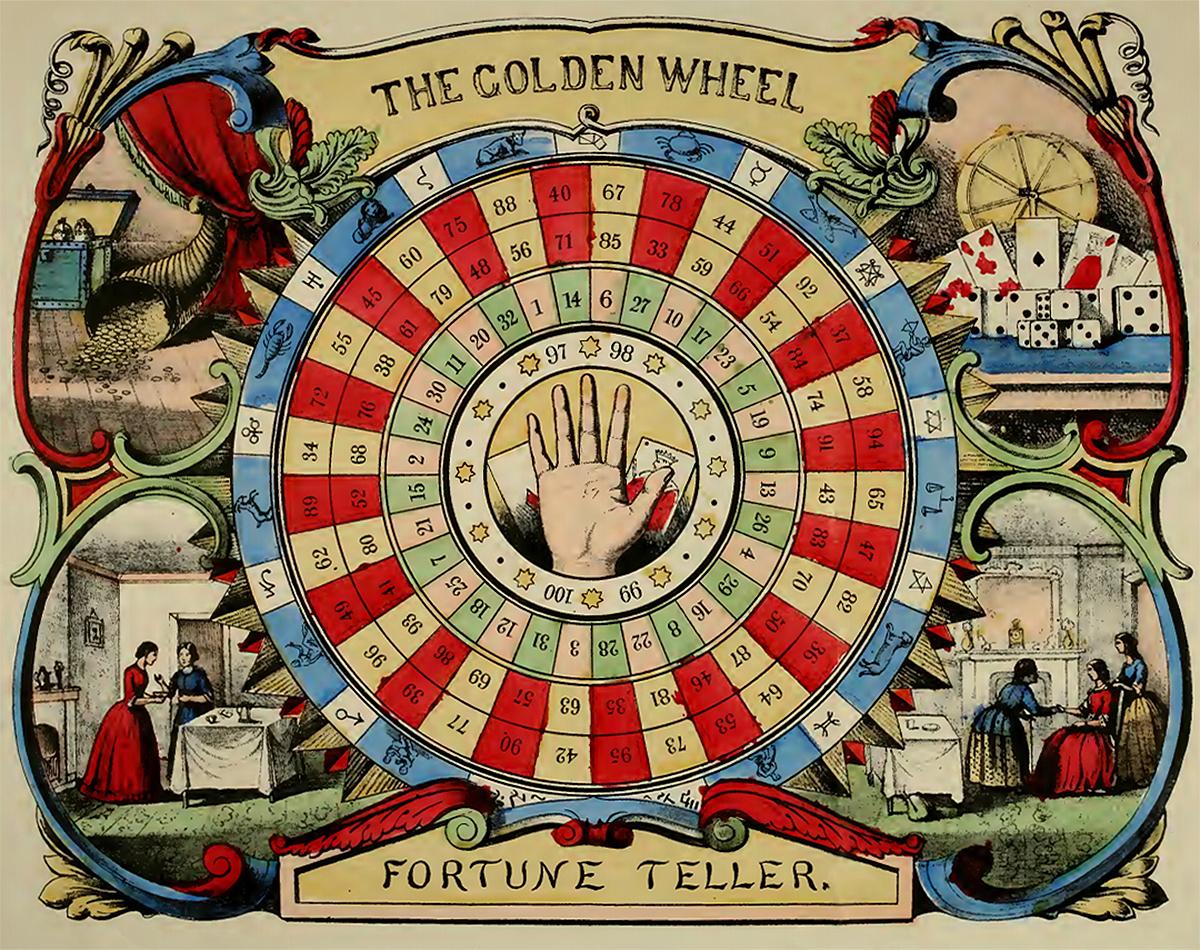 The Golden Wheel Fortune-Teller